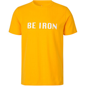 Fe226 Be Iron T-shirt, saffron